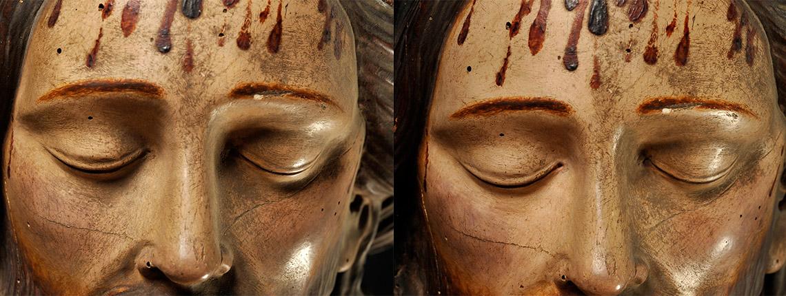 """La statua del """"Cristo Morto"""""""